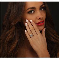 Platinum 2.70ctw Diamond Ring