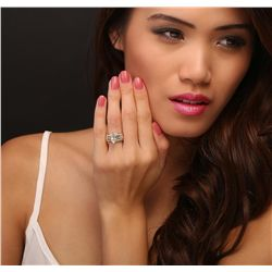 14KT Yellow Gold 2.95ctw Marquise Cut Diamond Ring