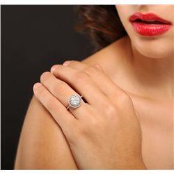 14KT White Gold 2.05ctw Diamond Ring
