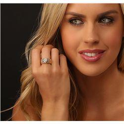14KT Yellow Gold 4.36ctw Diamond Wedding Ring