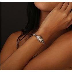 Ladies Vintage Hamilton Diamond Wristwatch