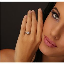 Platinum 1.66ctw Diamond Ring