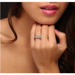14KT White Gold 5.63ctw Diamond Ring