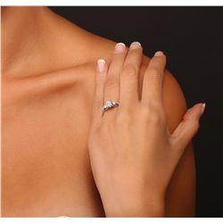 18KT White Gold 1.57ctw Diamond Ring