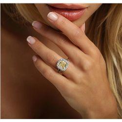 Platinum EGL Certified 5.79ctw Diamond Ring