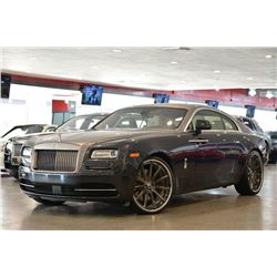 2014 Darkest Tungsten Rolls-Royce Wraith Base Coupe
