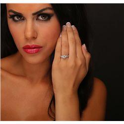 18KT White Gold 1.90ctw Diamond Ring