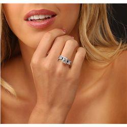 Platinum  1.96ctw Diamond  Ring