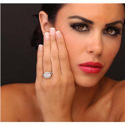 18KT White Gold 2.58ctw Diamond Ring