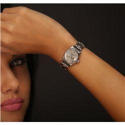 Ladies Rolex DateJust Stainless Steel Wristwatch