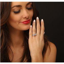 Platinum 2.62ctw Diamond Ring