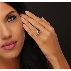 14KT White Gold 3.52ctw Diamond Ring