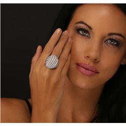 18KT White Gold 3.50ctw Diamond Ring