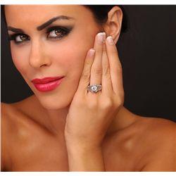 Platinum 2.93ctw Diamond Ring