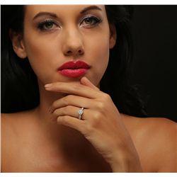 14KT White Gold 1.53ctw Diamond Ring