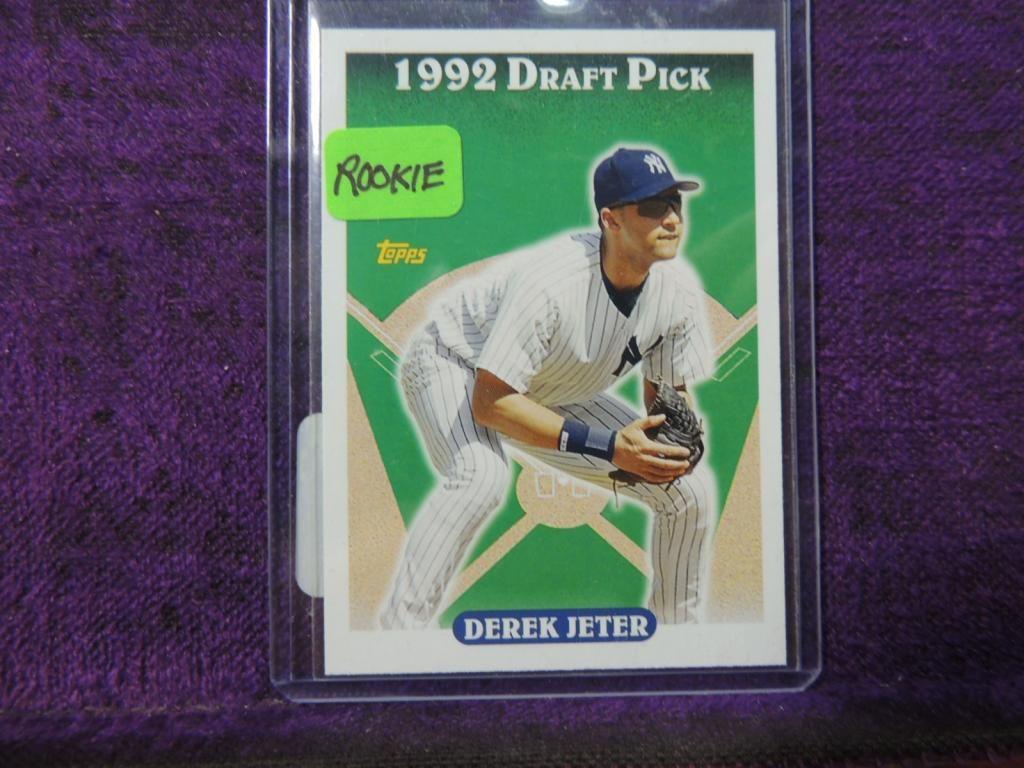 1992 Topps Derek Jeter Rookie 98 Baseball Card