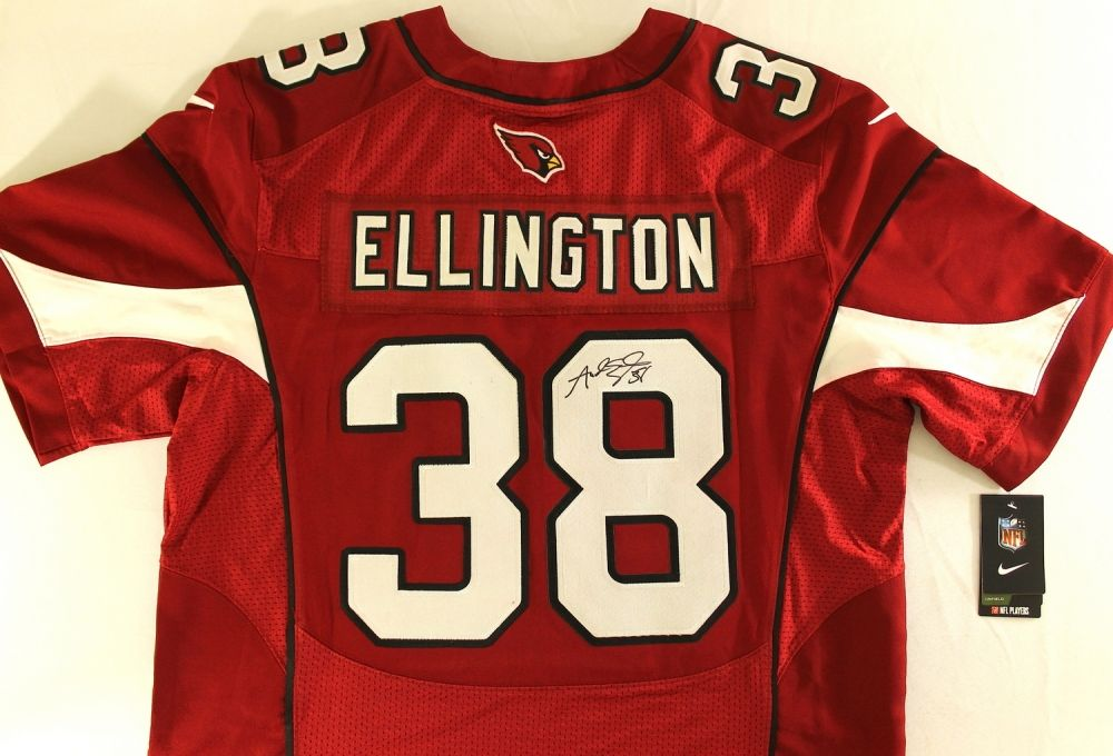 Andre Ellington Signed Cardinals Jersey (PA LOA)