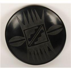Gorgeous Blackware Plate