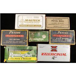 Lot of Miscellaneous Ammunition