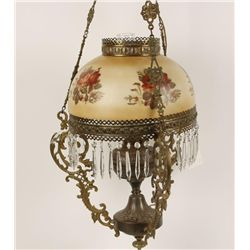 Lovely Victorian Style Hanging Lamp.