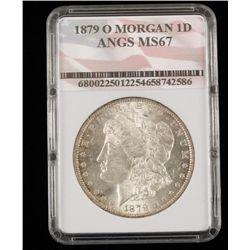 1879 O Morgan 1d Angs Ms67