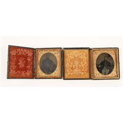 Collection of two tin types