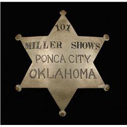 Old West 101 Miller Shows Ponca City OK Wild West