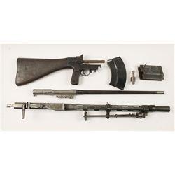 LS 26 Light Machine Gun Parts