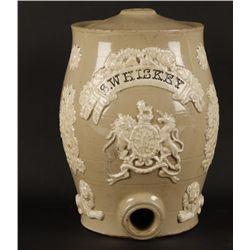 Ceramic Whiskey Decanter