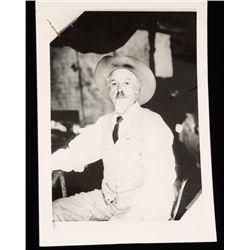 Old West Buffalo Bill Portrait Photograph.