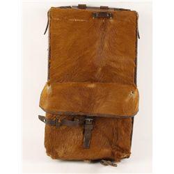 Austrian Horse Hide Backpack.
