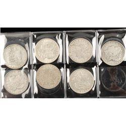 Lot of Seven 1921 Morgan Dollars