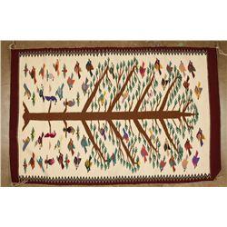 Very Fine Tree of Life Textile
