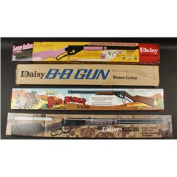 Lot of 4 Daisy BB Guns in Boxes