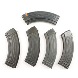 Lot of Five AK47 30-round Magazines
