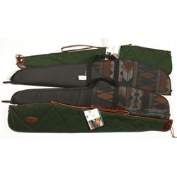 Lot of Four Soft Rifle Cases
