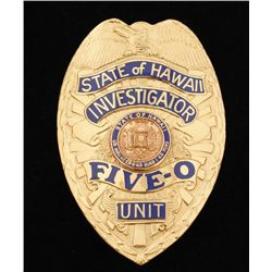 Obsolete State of Hawaii Investigator Five-0 Unit