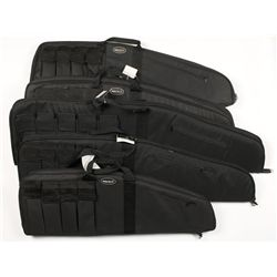 Lot of Five Bulldog Tactical Soft Rifle Cases