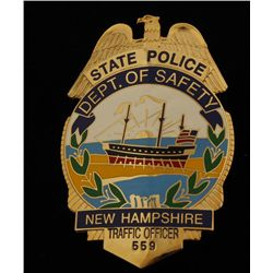 Obsolete New Hampshire State Police Department of