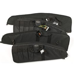 Lot of Four Bulldog Tactical Soft Rifle Cases