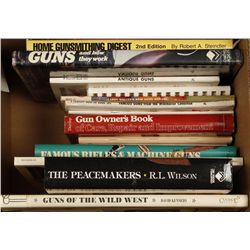 Box Lot of Firearm Related Books