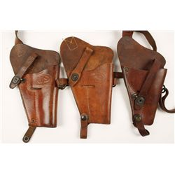 Lot of WWII US Shoulder Holsters