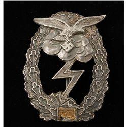 German WWII Luftwaffe '50' Ground Combat Badge