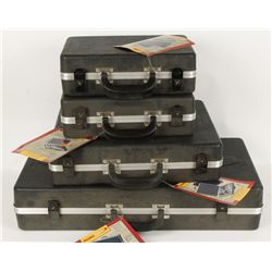 Lot of 5 Dosko Sport Hard Pistol Cases