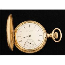 1888 Elgin Jewel Running Pocket Watch