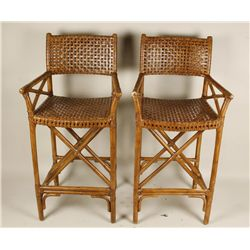 Pair of Vintage Bar Chairs