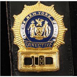 Obsolete City of New York Detective #18 Police Law