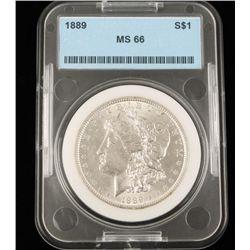 1889 S$1 Ms66