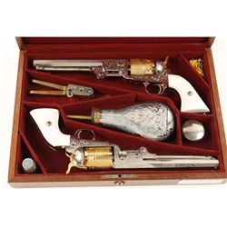 Pietta 1851 3rd Model Army Cal .44 SN: 1798 & 1799
