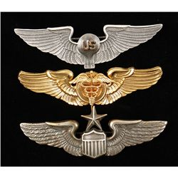 Lot of USAAF Army Air Corps Wings